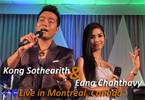 Live Concert feat. Kong Sothearith and Eang Chanthavy in Montreal, Canada